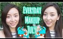 [Eng] My Everyday Makeup and Going Out Makeup☆July 2016☆毎日のメイク+ちょい足し 7月