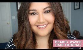 How to: Everyday Beachy Waves for THICK HAIR | Meagan Aguayo
