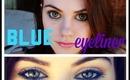Wearable: fun, Festive, BLUE eyeliner