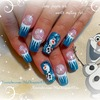 Disney FROZEN Inspired, OLAF the Snowman, Winter Nails