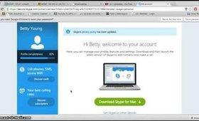 How to Make A Skype Call