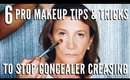 How to STOP Concealer from Settling into Creases and Lines   mathias4makeup