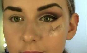 Cranberry & Gold Cut Crease - A Makeup Tutorial