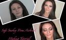 Soft Smokey Prom Makeup Tutorial using Graftobian and OCC Airbrush Makeup