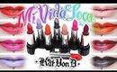 Review & Swatches: KAT VON D Mi Vida Loca Remix Studded Kiss Lip Set | Dupes!