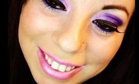Purple Bombshell Eyes!