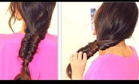 "★ ""STITCH"" FISHTAIL BRAID TUTORIAL 