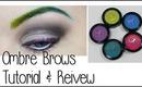Ombre Brows Tutorial & Review: Anastasia Hyper Color