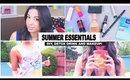 Summer Time! DIY Recycle Old T Shirt, Detox Drink + Make Up Essentials!