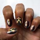 Friday the 13th - jason voorhees - nail art decals