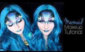 Mermaid Halloween Makeup Tutorial - 31 Days of Halloween