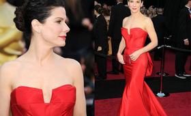 Oscar Beauty 2011: Sandra Bullock