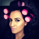 sleep in rollers!