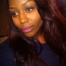 Natural face. Bold matte lip.