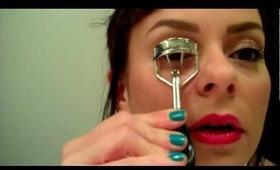 Gloss + Dirt Blog: Easy Winged Eyeliner Tutorial!