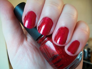 China Glaze Ruby Pumps Nail Polish  This polish is part of my 'Top 10 Autumn/ Fall & Winter Nail Polishes' blog post. Please click on the link below to read the full list!  http://www.mazmakeup.blogspot.com