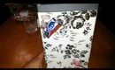 diy Decoupage a box to repurpose under $3