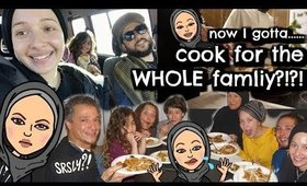 Cooking for the WHOLE family SUPER Vlog | Nura Afia