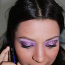 Purple And Glitter