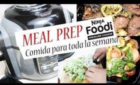 [MEAL PREP No.14] USÉ Ninja Foodi para COCINAR/COMIDA PARA LA SEMAANA| Kittypinky