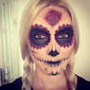 My First Sugar Skull :)