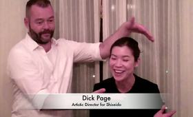 Michael Kors Fashion Week Spring 2012 Makeover with Dick Page