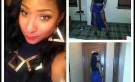 Birthday OOTN: Double Slit Maxi Skirt (fail? lol)