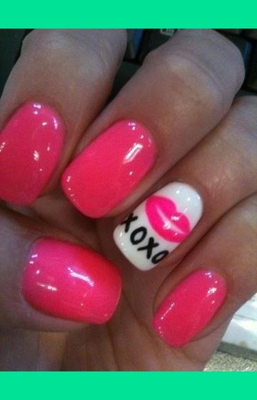 Nail Powder: Valentines Day Nails!