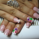 Flower-Power Nails