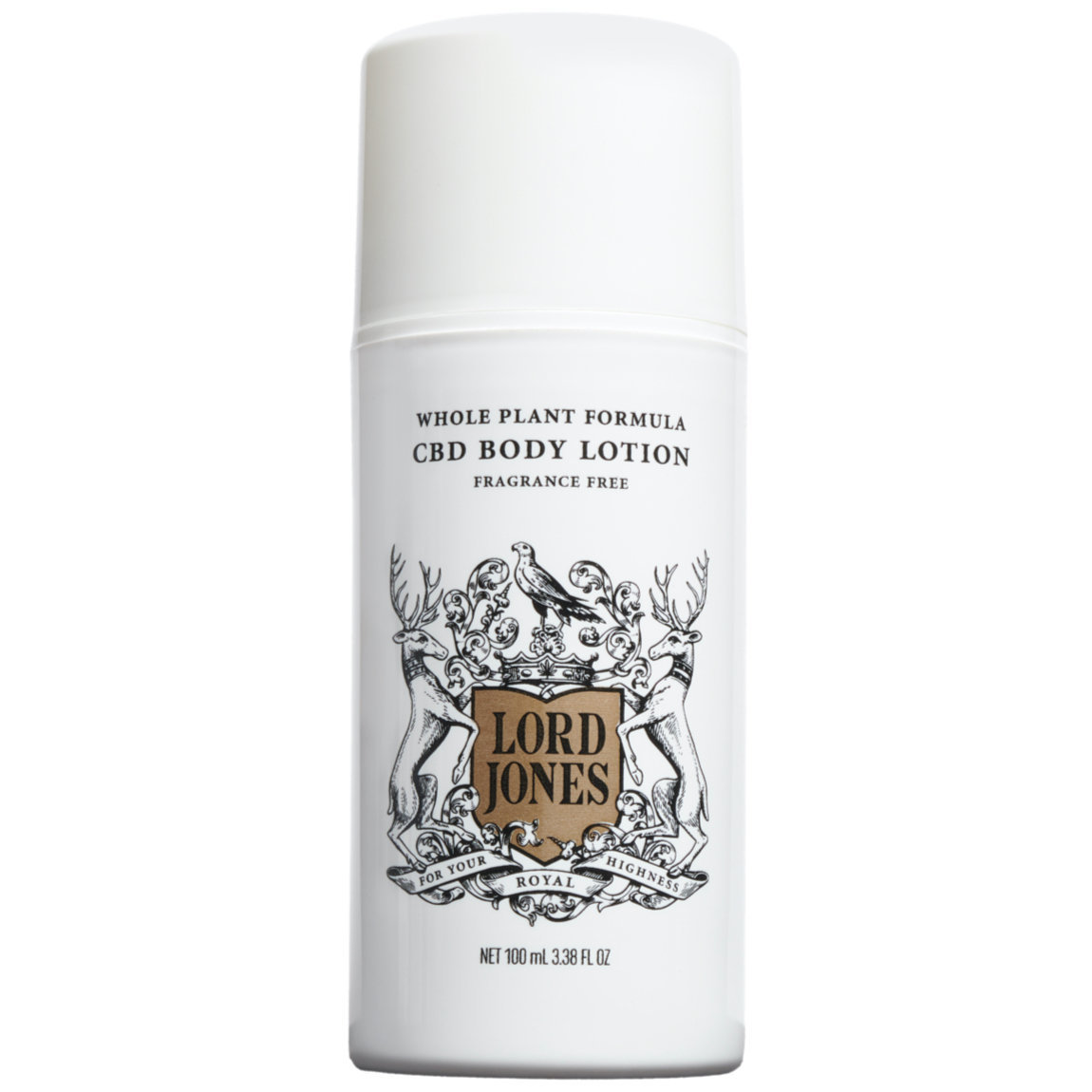 Lord Jones Body Lotion - Fragrance-Free 100 ml alternative view 1 - product swatch.