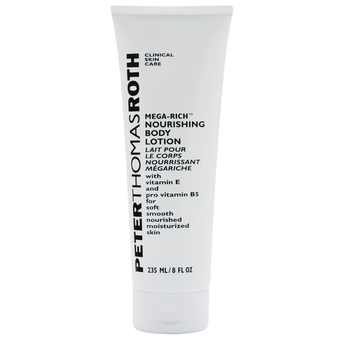 Peter Thomas Roth Mega-Rich Body Lotion product swatch.