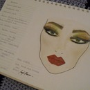 Earthy Toned Face Chart