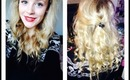 Festive Curly Hair Tutorial