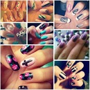 All my recent nail work