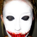 Voodoo Doll/Stitched Mouth Make-Up