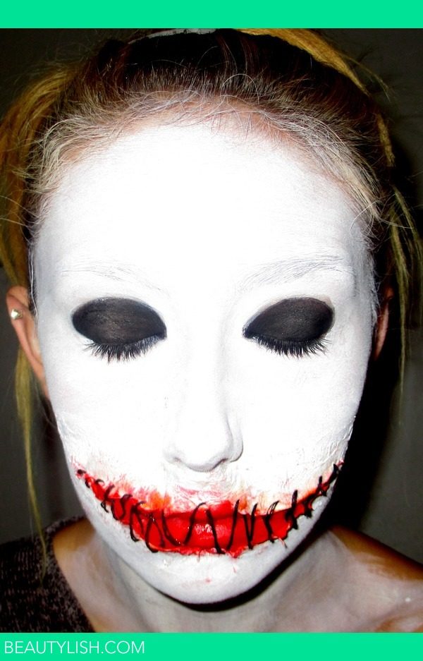 Voodoo Doll Stitched Mouth Make Up Holly N S Photo Beautylish