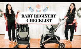 What To Put On Baby Registry 2020   simple checklist for first time moms