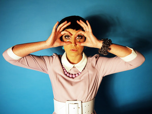 My interpretation of sixties makeup inspired by Twiggy and Mary Quant! xo