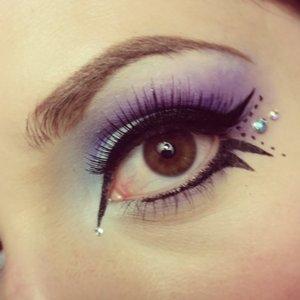 Veld 2014 makeup look.