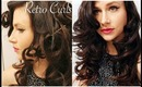 Flat Iron Retro Curls