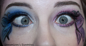 Me being even silly-er!! http://samariums-swatches.blogspot.com/2012/03/311-eotd-some-sugar-pill-swatches-and.html