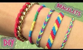 DIY 5 Easy, but Adorable Friendship Bracelets