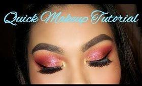 Quick Makeup Tutorial (New Years Makeup)