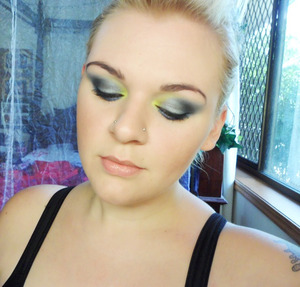 Metal & Neon. Would you like to see a tutorial for this look?