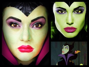 Here is a Halloween look I created of Disney's Maleficent. www.makeupbybree.ca