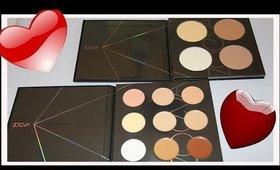 ZOEVA CONTOUR & CONCEALER Spectrum Palettes | First Impressions & Demo | LetzMakeup