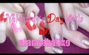 Valentine's Day Nails {collab video}