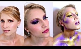 BRIDAL, PARTY AND ARTISTIC FASHION MAKEUP | 3 LOOKS 1 VIDEO