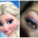 Frozen's Elsa Inspired Make-Up