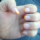 summer french tip